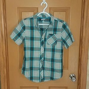 Arizona Jean boys button up shirt size XL 14/16